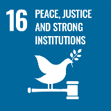 Sustainable development goals - Peace, justice and strong institutions